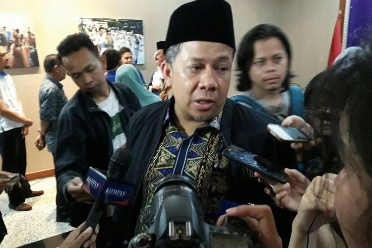 Wakil Ketua DPR RI Fahri Hamzah di Kantor DPP PAN, Jakarta, Rabu (9/5/2018).