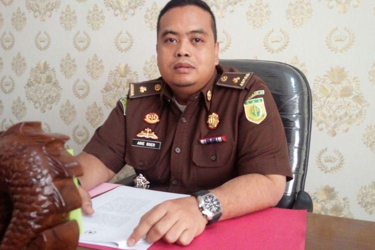 Kasi Pidana Umum Kejaksaan Negeri Kabupaten Mojokerto, Arie Satria, saat ditemui di Kantornya, Selasa (3/9/2019).