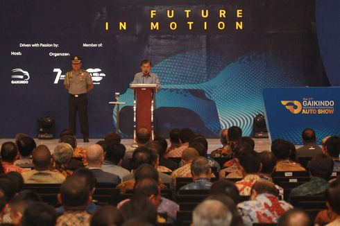 Wapres Kalla Minta Pengusaha Otomotif Bersiap Produksi Mobil Listrik