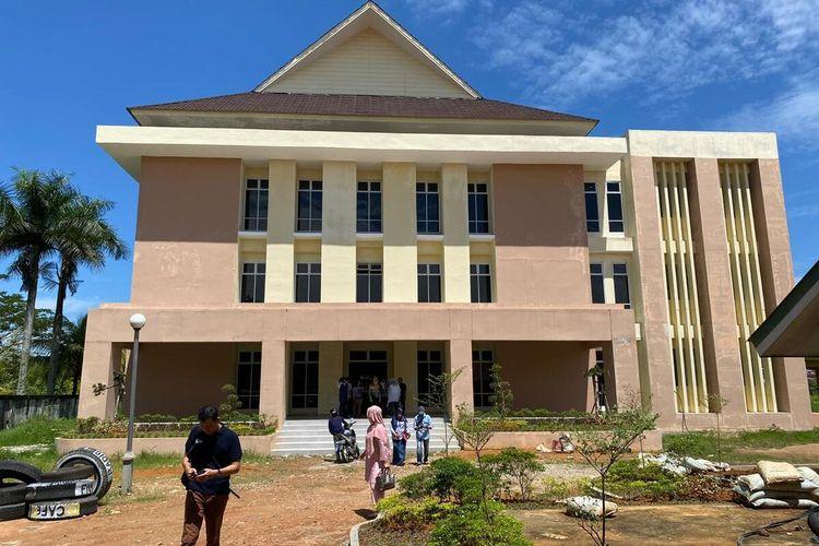 Gedung baru yang disiapkan RSUD Soedarso Pontianak, Kalimantan Barat, untuj antisipasi penambahan pasien positif Covid-19.