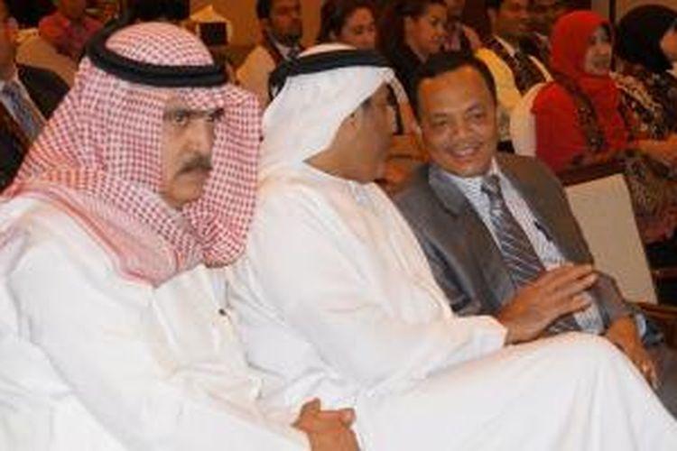 Suasana Sales Mission yang digelar oleh Kemparekraf RI di Hotel Grand Millenium Al Wahda, Abu Dhabi, Uni Emirat Arab pada tanggal 27 November 2013.