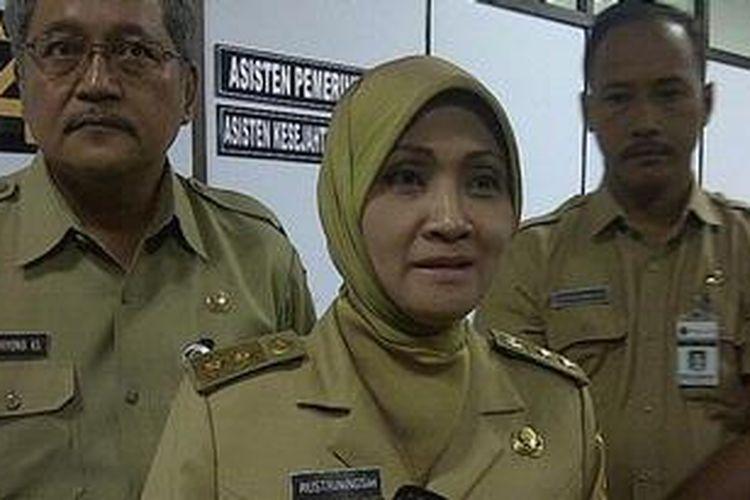 Wakil Gubernur Jawa Tengah Rustriningsih saat ditemui dikantornya Senin (27/5/2013)