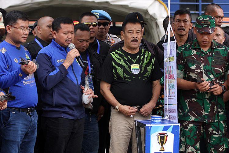 Manajer Persib Bandung, Umuh Muchtar.