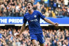 Chelsea Vs Newcastle, Marcos Alonso Menangkan The Blues