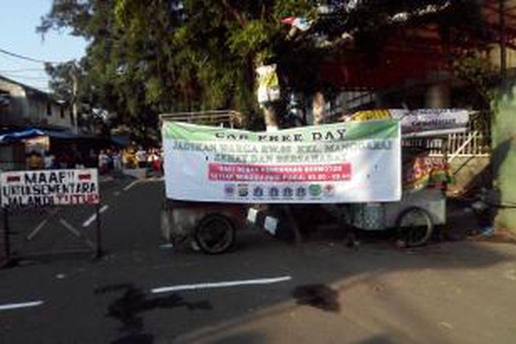 Car free day di Kelurahan Manggarai