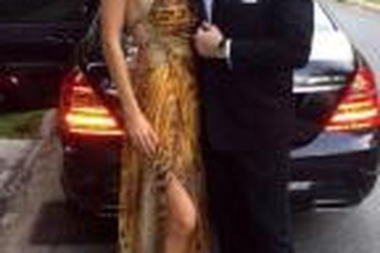 Bankir Inggris Anton Casey dan istrinya, mantan ratu kecantikan Singapura, Bernice Wong