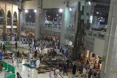 Alat Berat Proyek Timpa Jemaah di Masjidil Haram