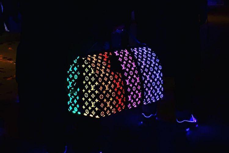 Tas glow in the dark Louis Vuitton