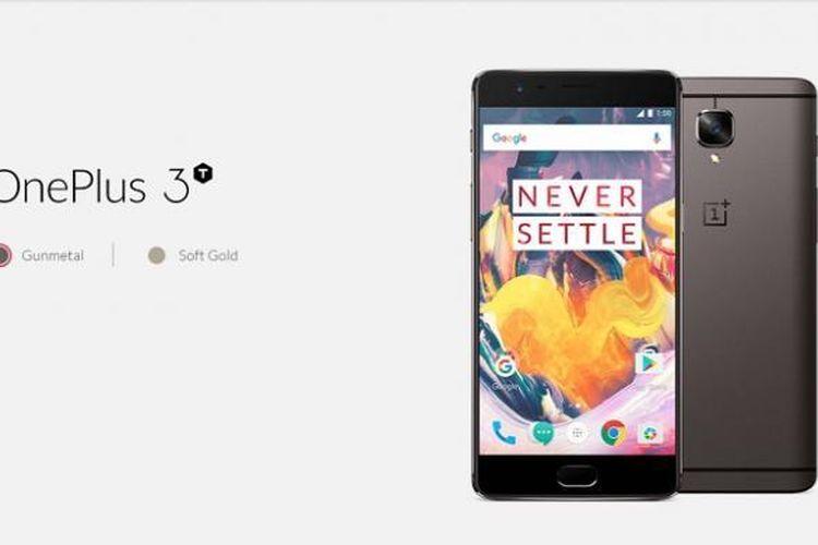 OnePlus 3T resmi, punya varian Gunmetal dan dibekali prosesor Snapdragon 820.