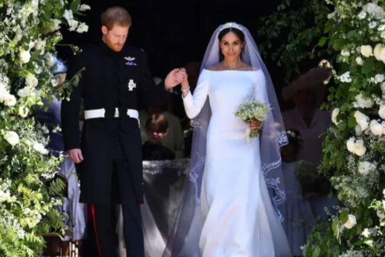 Gaun pengantin Givenchy Meghan Markle