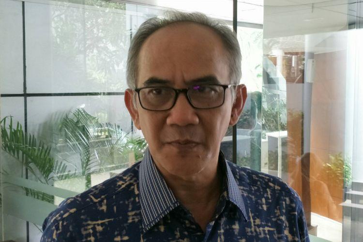 Direktur Jenderal (Dirjen) Perdagangan Luar Negeri Kementerian Perdagangan (Kemendag), Oke Nurwan saat ditemui di Kantor Kementerian Koordinator Bidang Kemaritiman, Jakarta, Selasa (6/3/2018).