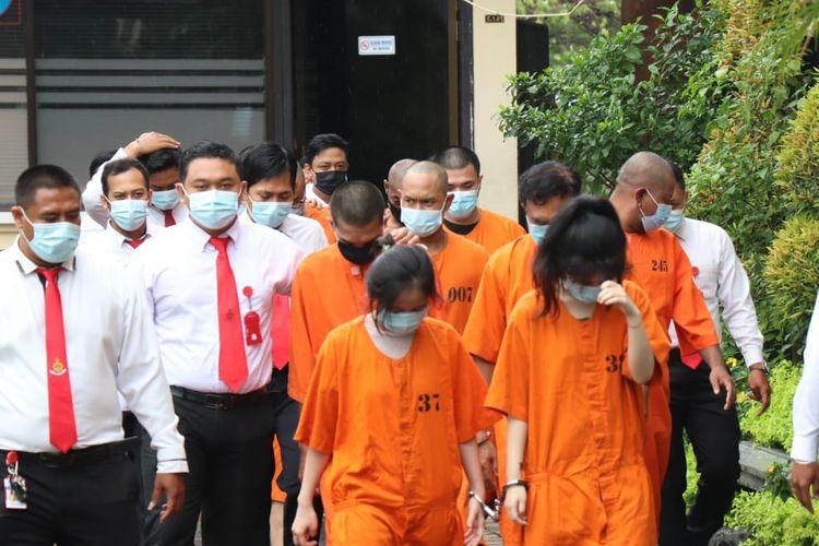 Polisi menangkap sejumlah pengguna narkoba di wilayah hukum Polresta Denpasar