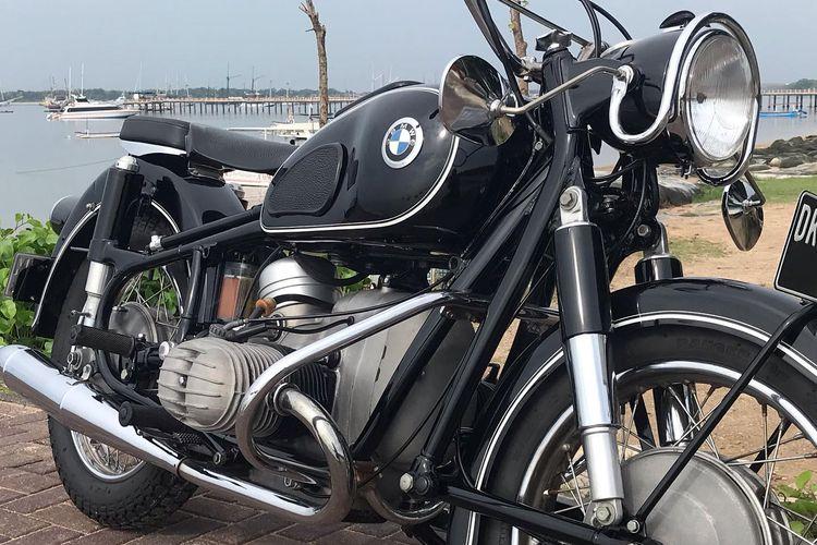 Motor klasik BMW R60 milik Ridwan Kamil