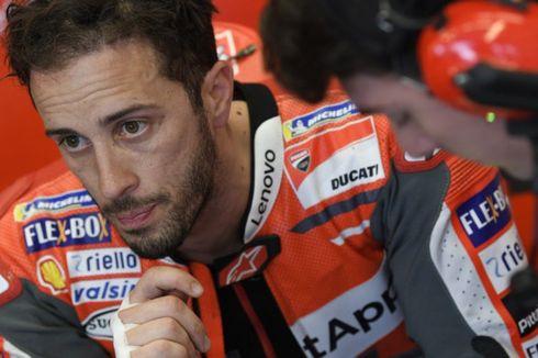 Dovizioso Salah Pilih Ban Lawan Marquez dan Lorenzo