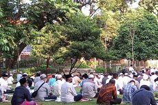 Ribuan Jemaah Shalat Id di Masjid Agung Sunda Kelapa, Tanpa Masker Dilarang Masuk