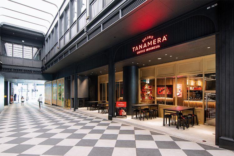 Gerai Tanamera Coffee di Singapura