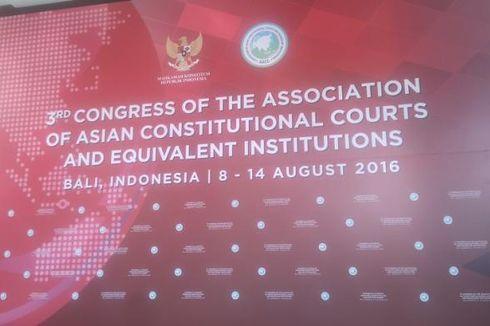 Presiden Jokowi Akan Buka Pertemuan Mahkamah Konstitusi Se-Asia di Bali