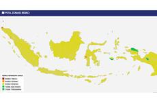 UPDATE: Mayoritas Wilayah Indonesia Risiko Rendah Covid-19, Nol Zona Merah