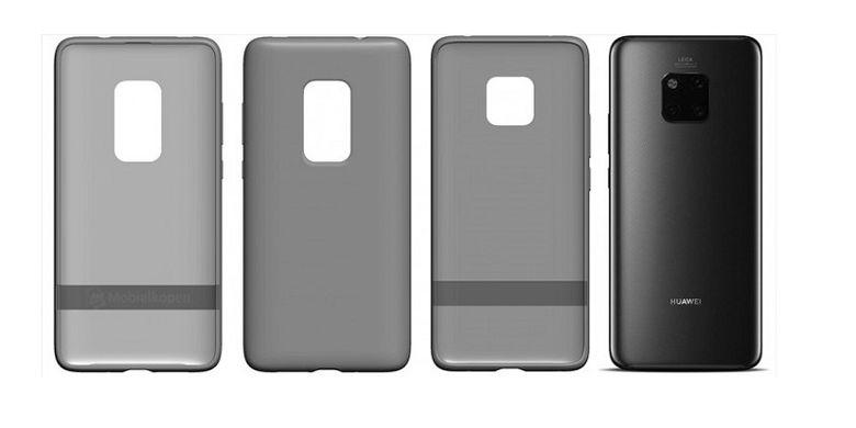 Bocoran render casing Huawei Mate 30 Pro