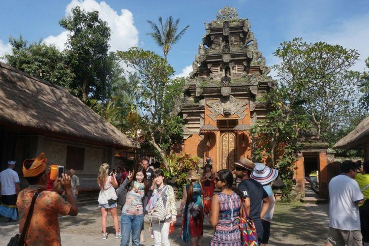 Bagian Puri Ubud di Gianyar Bali yang rencananya akan dikunjungi Raja Salman