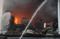Kebakaran Ruko di Cianjur, Satu Orang Tewas