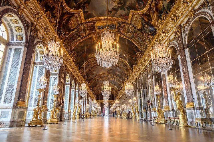 Ilustrasi palace of Versailles