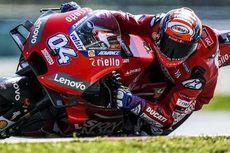 Tinggalkan Marquez, Dovizioso Tercepat di FP3 MotoGP Thailand