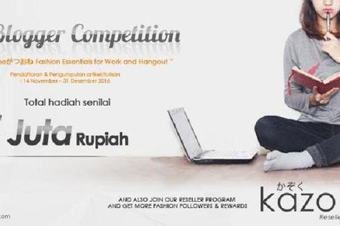 """Suka Menulis dan Padu Padan """"Fashion""""? Ikuti Kompetisi Blog Ini!"""