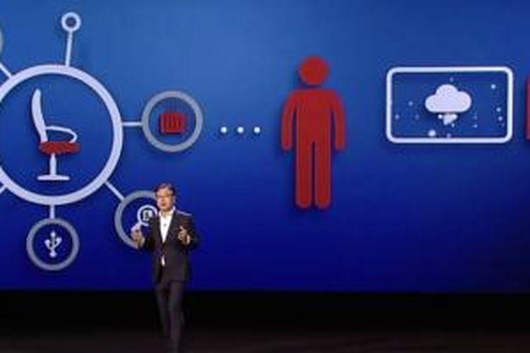 Presentasi Samsung di Consumer Electronics Show 2015