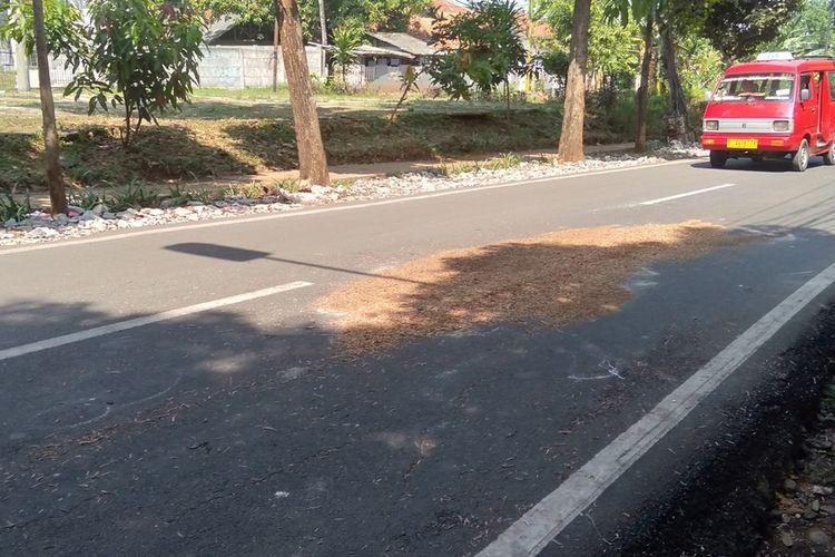 Tempat ABW ditemukan di Jalan Sapi Perah, Pondok Ranggon, Jakarta Timur, Kamis (16/9/2020)