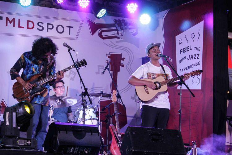 Band Efek Rumah Kaca tampil di Java Jazz Festival 2020 yang digelar di JIExpo, Kemayoran, Jakarta Pusat, Jumat (28/2/2020).