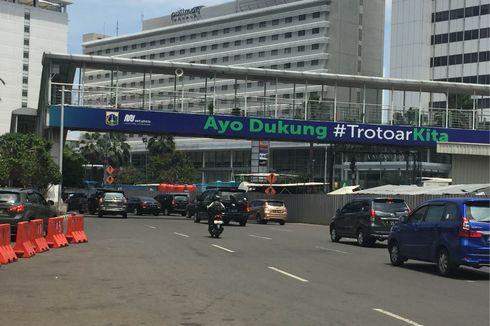Larangan Motor Dicabut, Kemacetan di Thamrin Meningkat 35 Persen