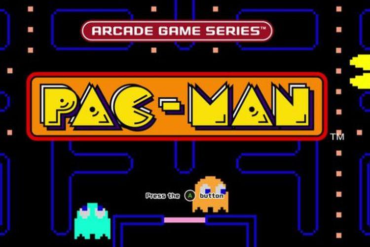 Game arcade Pac Man.