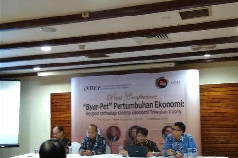 INDEF: Target Pertumbuhan Ekonomi 5,3 Persen Sulit Dicapai