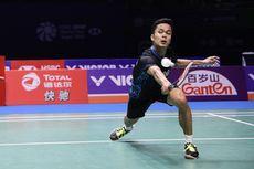 Anthony Bertemu Tommy Sugiarto di Babak Pertama Indonesia Masters 2019