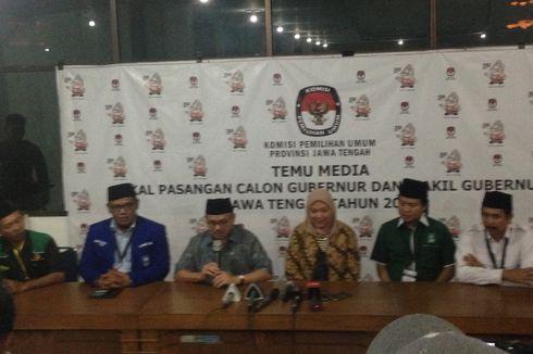 Sah, Sudirman Said-Ida Fauziyah Daftar di Pilkada Jateng