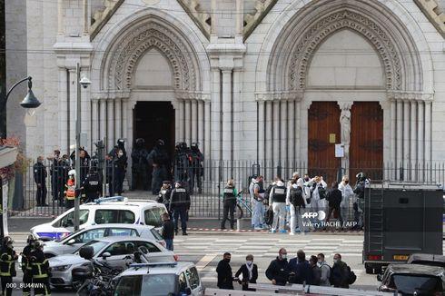 1 Orang Dipenggal dalam Serangan di Gereja Perancis, Ini Tanggapan Rusia