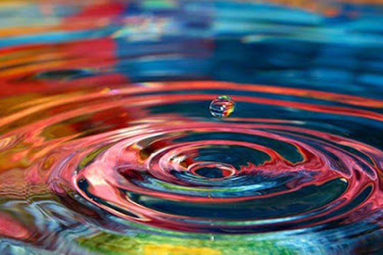 Riak air merupakan salah satu contoh fenomena adanya gelombang.