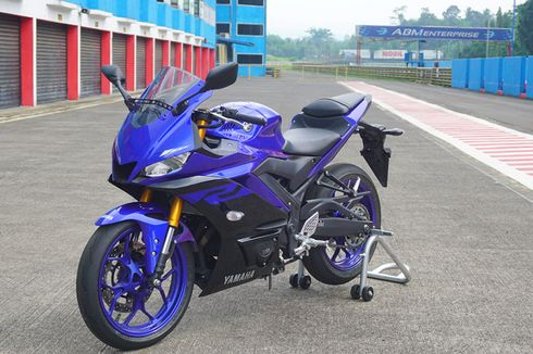 Geber Yamaha New R25 di Sentul [VIDEO]