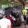 Minibus Pecah Ban dan Terguling, 5 Mahasiswa UHO Kendari Tewas