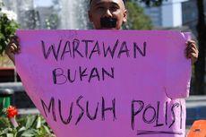 2 Jurnalis Korban Kekerasan Oknum Polisi Lapor ke Propam Polri