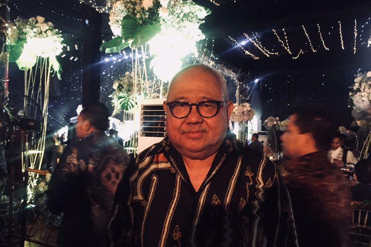 Mantan ketua Badan Liga Indonesia [BLI], Andi Darussalam Tabusala.