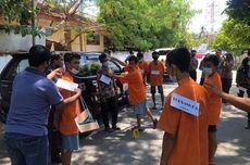 Rekonstruksi Penganiayaan Pemuda di Selayar, 6 Tersangka Peragakan 44 Adegan