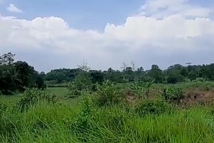 Suasana lokasi terpidana mati kasus narkoba yang kabur ke hutan di Kecamatan Tenjo, Kabupaten Bogor, Jawa Barat,.