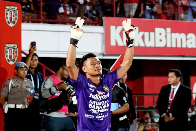 Kiper utama Bali United, Wawan Hendrawan