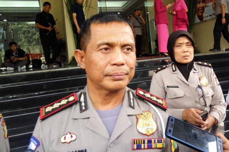 Direktur Lalu Lintas Polda Metro Jaya Kombes Halim Pagarra