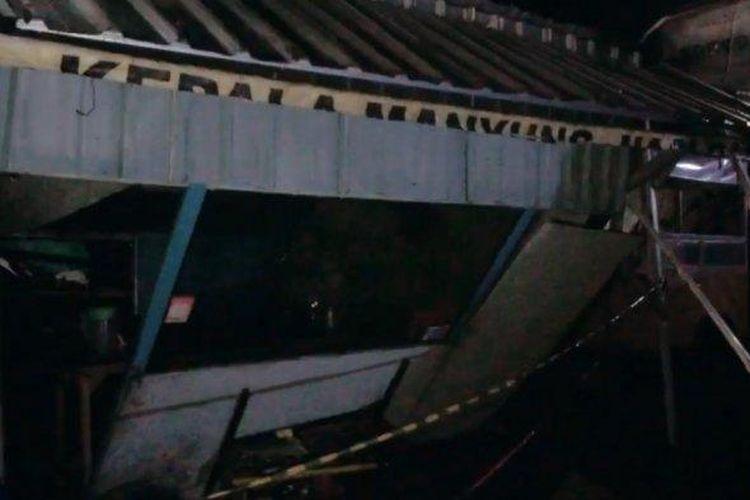 Longsor di Kalipancur, Ngaliyan, Kota Semarang, Selasa (19/5/2020) malam.