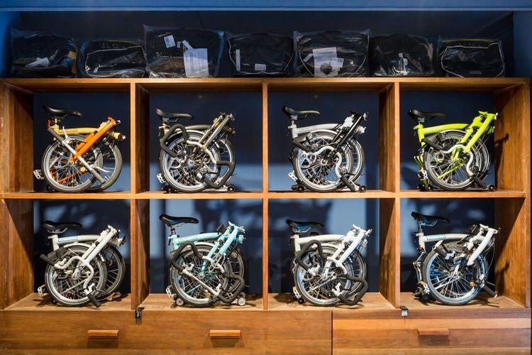 Ilustrasi Sepeda Brompton