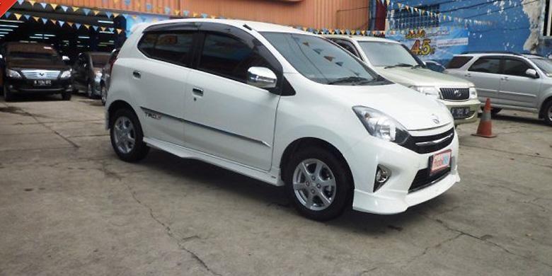 Toyota Agya yang dijual Mobil88 cabang Tebet