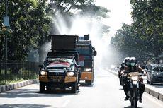 Polisi Semprotkan 1,3 Juta Liter Disinfektan di 754 Lokasi di Jawa Barat